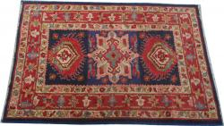 Tapis ancien Français Janus point de Lys 103X146 cm